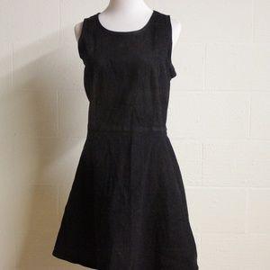 GAP》16 Black Denim dress